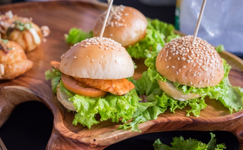 Tilapia Sliders Healthy Football Sunday Recipe