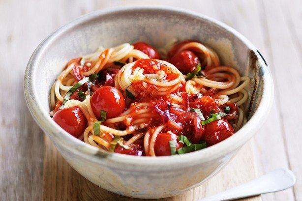tomato basil pasta easy hassle-free