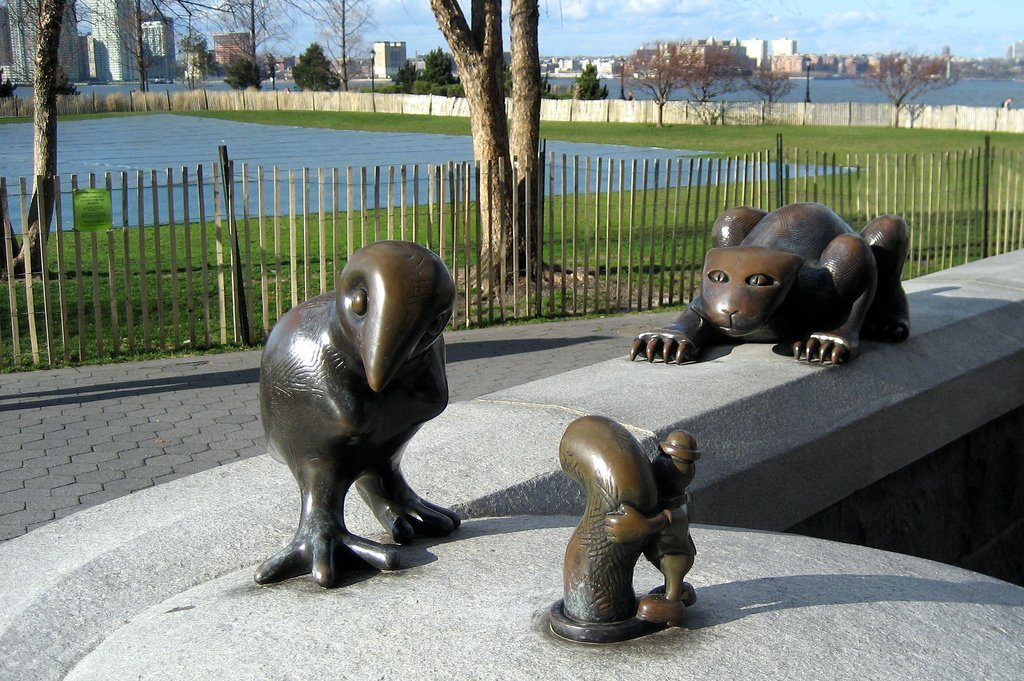Tom Otterness's The Real World