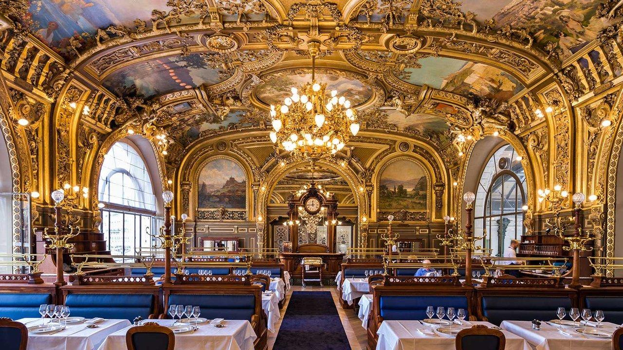 Le Train Bleu restaurant in Gare de Lyon Paris