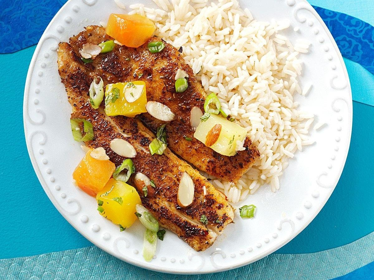 Tropical Tilapia Recipes Forget Winter