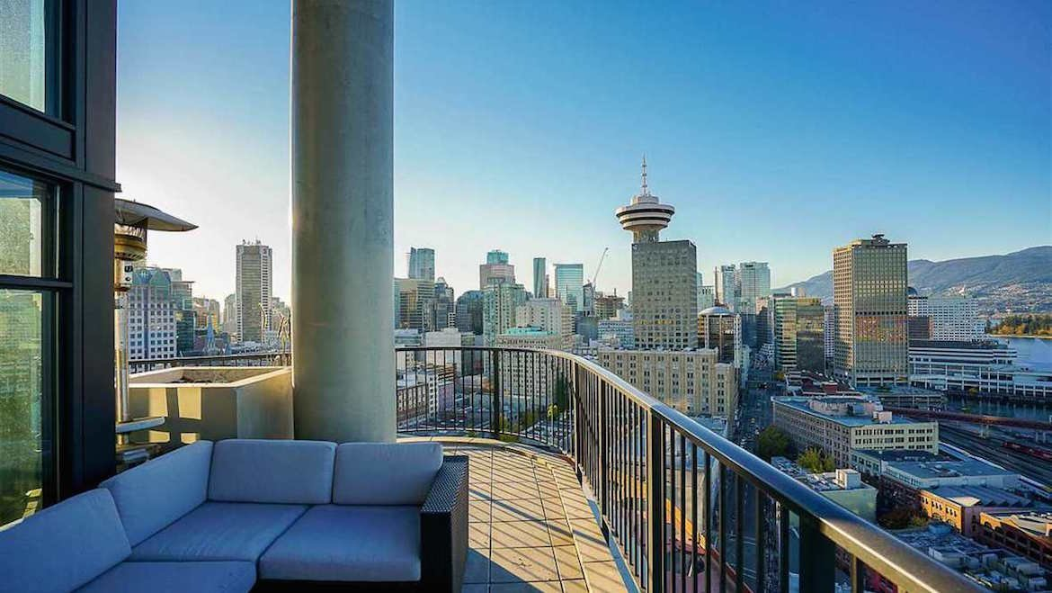luxury penthouse, Vancouver unusual homes, Vancouver skyline
