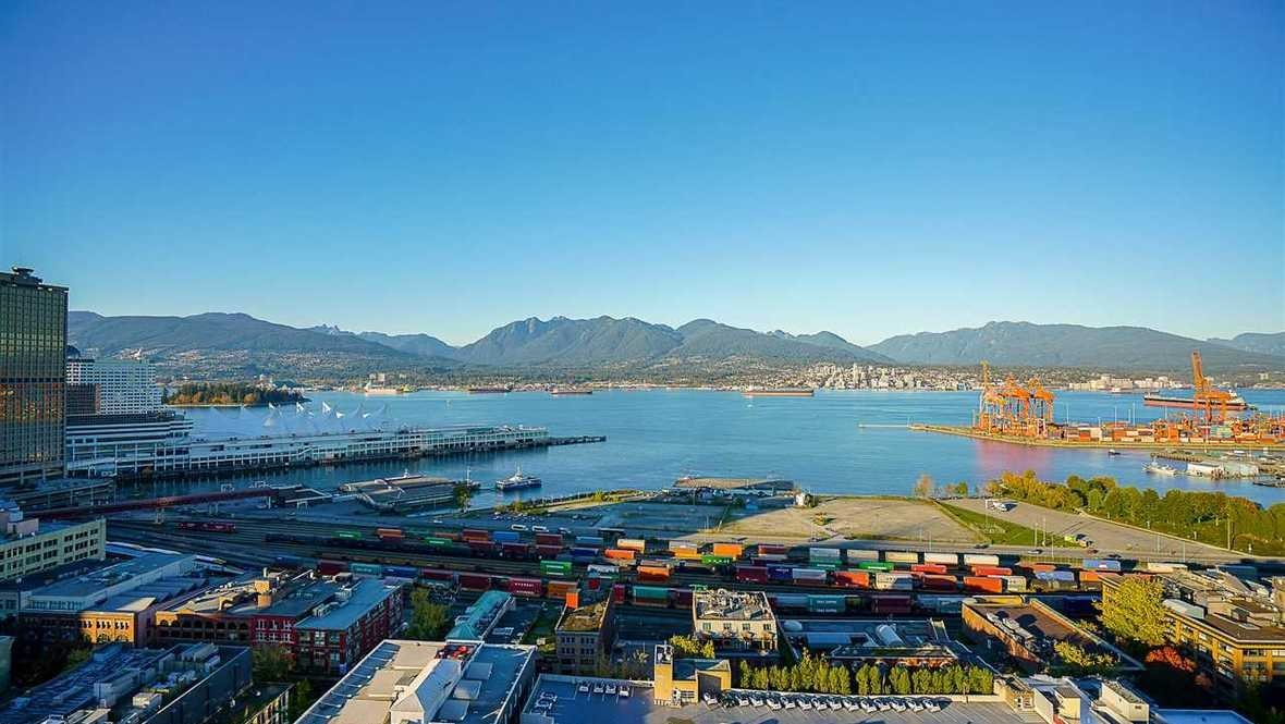 Vancouver harbour lookout