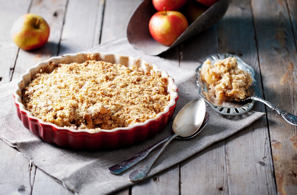 apple crisp dish