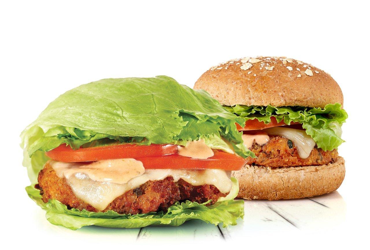 Veggie Burger Quinoa Fast Food BurgerFi