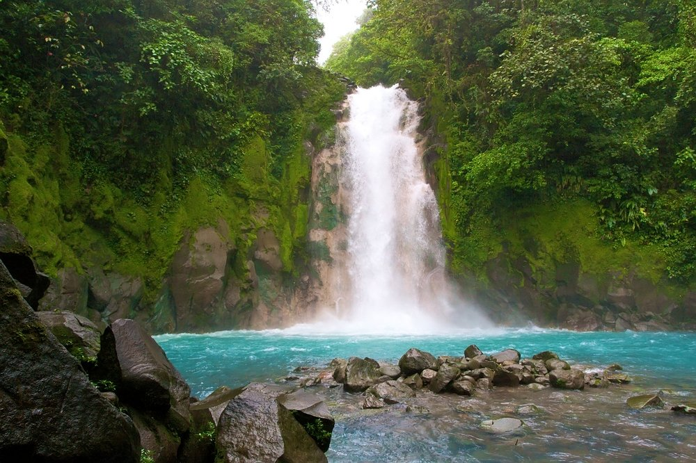 Waterfall Costa Rica