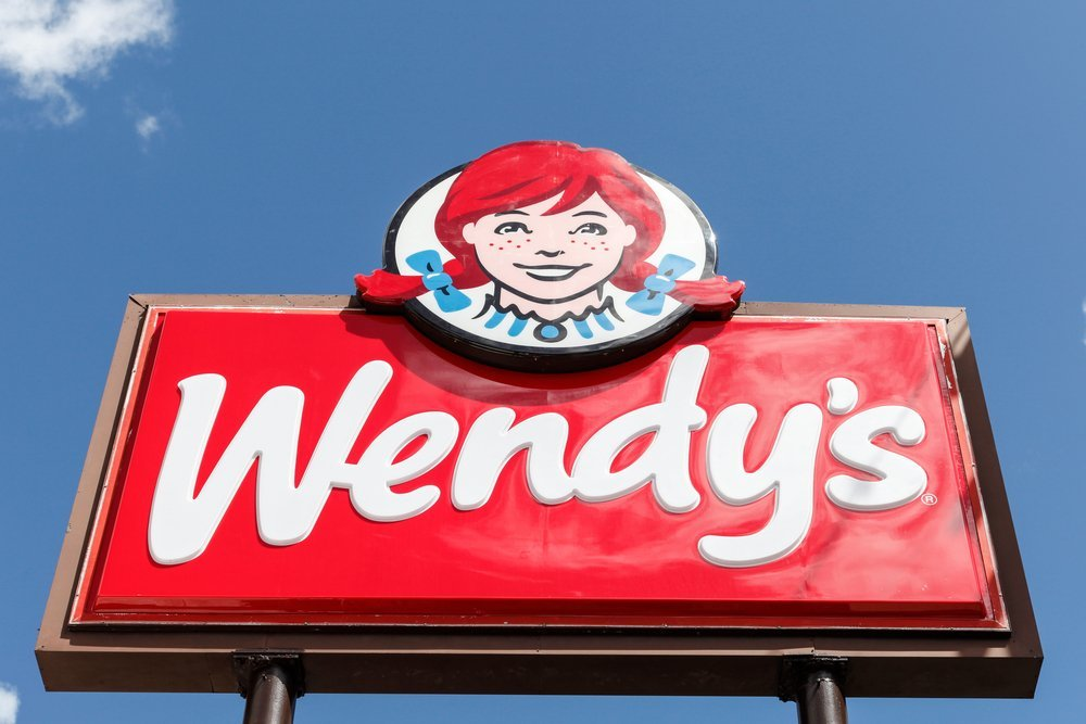 Wendy's Restaurant Store Sign