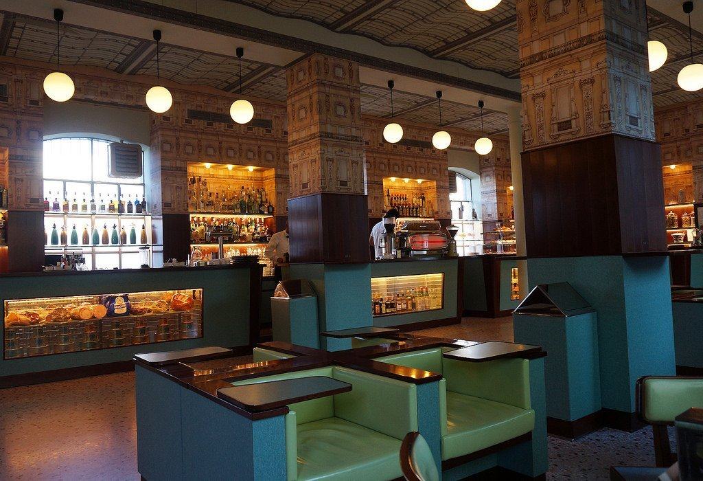 Wes Anderson's Bar Luce