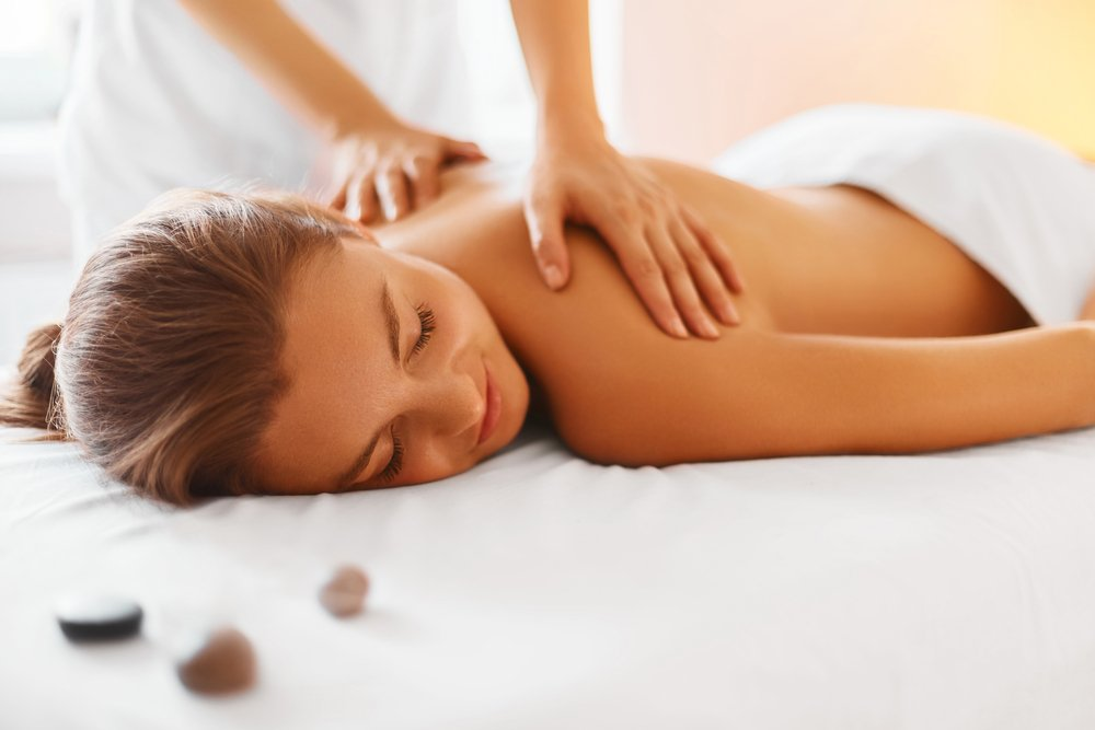 Woman Having Massage
