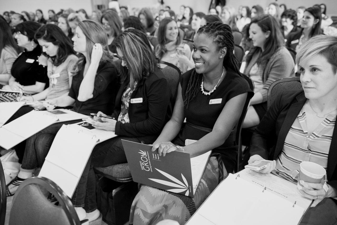 women grow marijuana conference